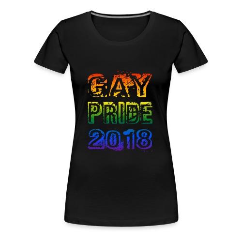 shirt gay pride 2018 - Women's Premium T-Shirt