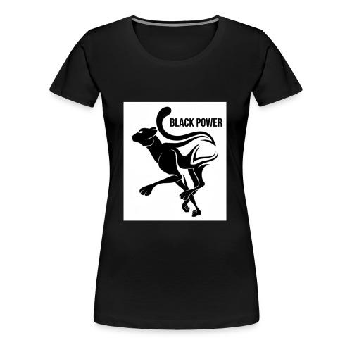 BLACK POWER PANTHER - Women's Premium T-Shirt