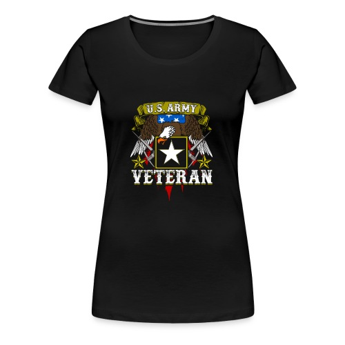 US military Veterans - Women's Premium T-Shirt