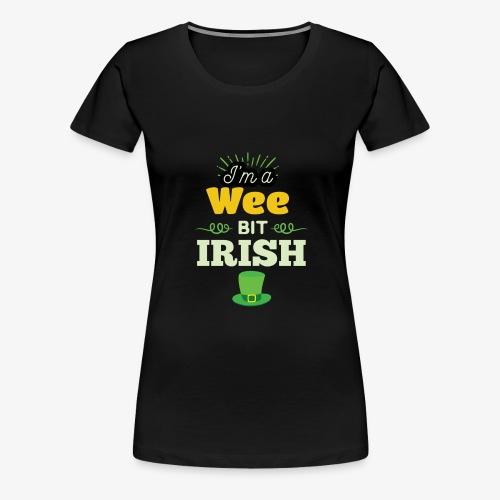 Funny Leprechaun Happy St Patricks Day - Women's Premium T-Shirt