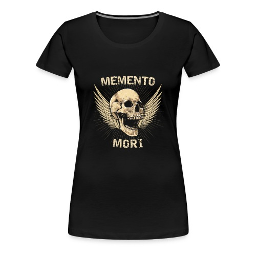 Memento Mori Shirt - Stoicism Masonic Shirt - Women's Premium T-Shirt
