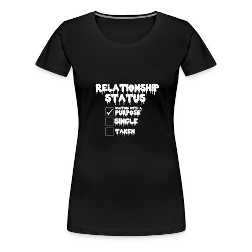 relationship status T_shirt - Women's Premium T-Shirt