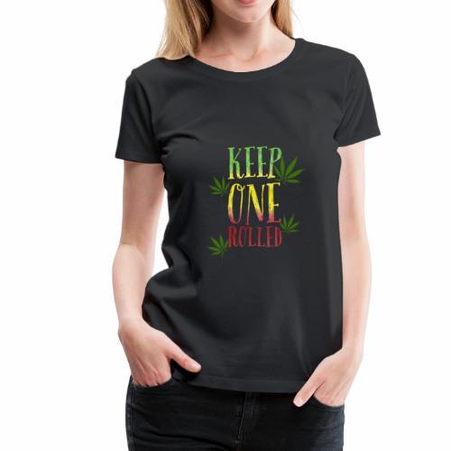 keep one rolled BUDdy - Women's Premium T-Shirt