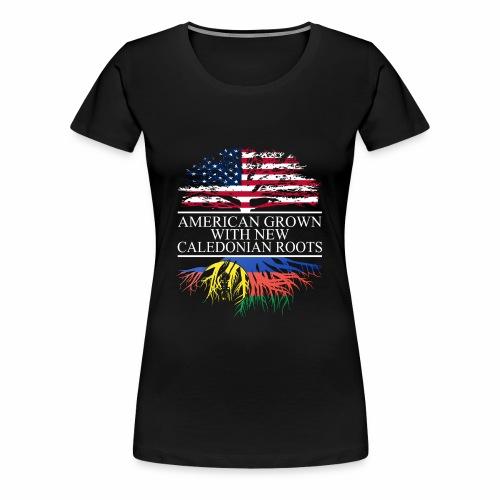 american grown with new caledonian roots original - Women's Premium T-Shirt