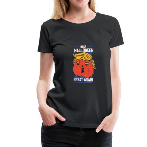 Make Halloween great again - Women's Premium T-Shirt