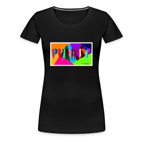 Punny - Women's Premium T-Shirt