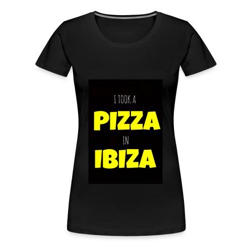 I took a Pizza in Ibiza - Women's Premium T-Shirt