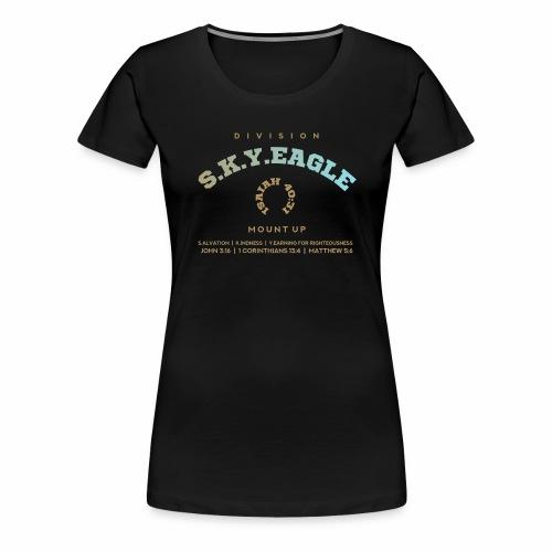 DIVISION S.K.Y.EAGLE 1 - Women's Premium T-Shirt