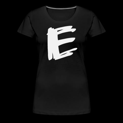 Plain White Logo - Women's Premium T-Shirt