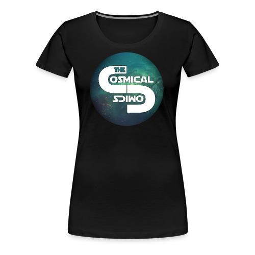 TheCosmicalComics logo - Women's Premium T-Shirt