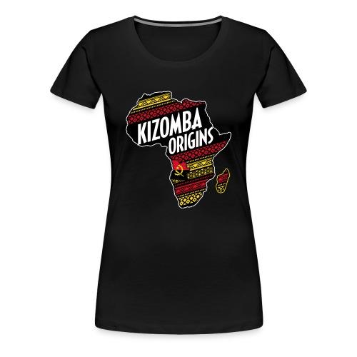 kizomba origins - Women's Premium T-Shirt