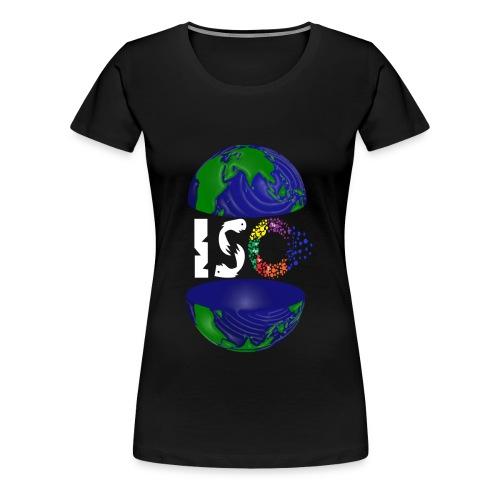ISO WHITE - Women's Premium T-Shirt