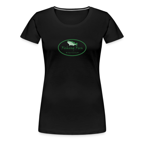Fishing Fun Logo - Women's Premium T-Shirt