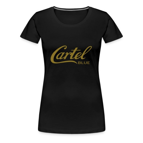 Cartel Blue Graphics - Women's Premium T-Shirt