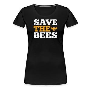 Save the Bees - Women's Premium T-Shirt