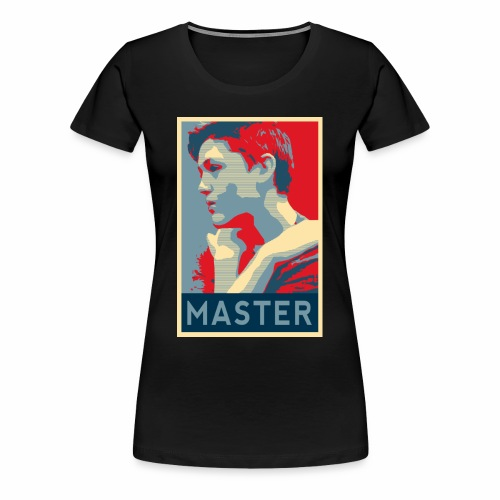 MASTER Poster - Women's Premium T-Shirt