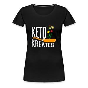 Keto Kreates - Women's Premium T-Shirt