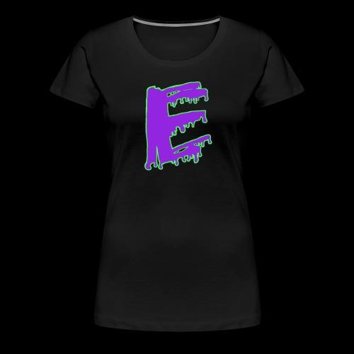 Colored Ooze Logo - Women's Premium T-Shirt