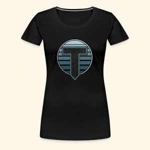 Tigref Logo - Women's Premium T-Shirt