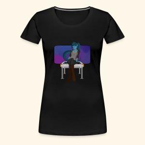 Alien Girlfriend T-Shirt - Women's Premium T-Shirt