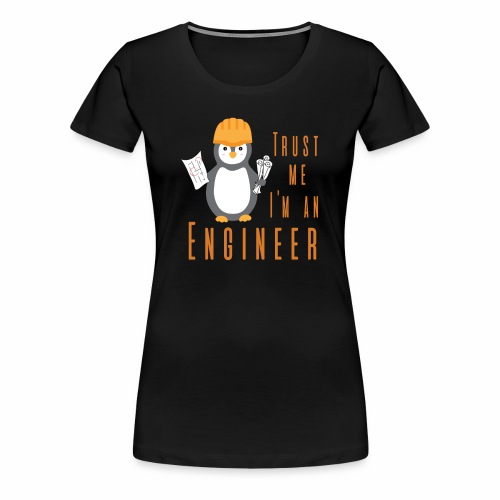 Engineer Pigo - Women's Premium T-Shirt