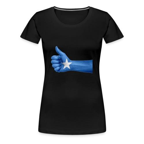 somalia - thumps Up - Women's Premium T-Shirt
