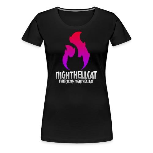 NightHellcat Twitch Logo - Women's Premium T-Shirt
