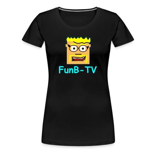 FunB-TV Guy - Women's Premium T-Shirt