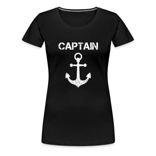 Captain Anchor - Women's Premium T-Shirt