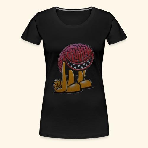 Monster Brain - Women's Premium T-Shirt
