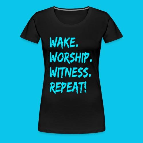WWWR! - Women's Premium T-Shirt
