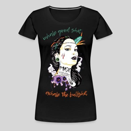 Inhale/Exhale - Women's Premium T-Shirt