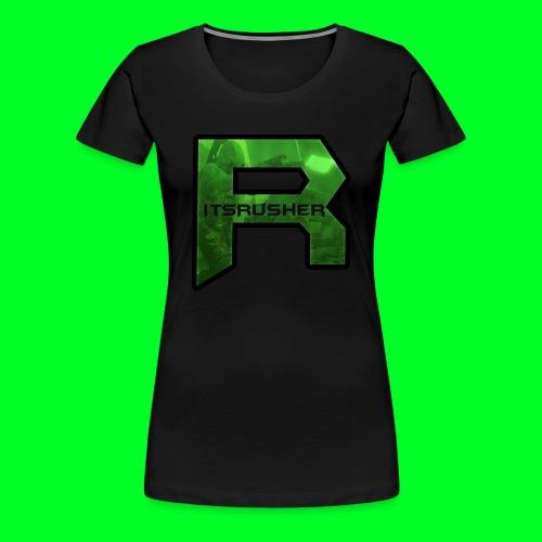 ItsRusher 2018 Logo - Women's Premium T-Shirt