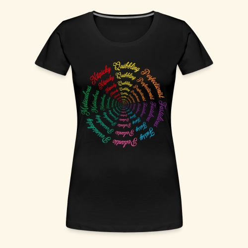 Wordy Tee - Women's Premium T-Shirt