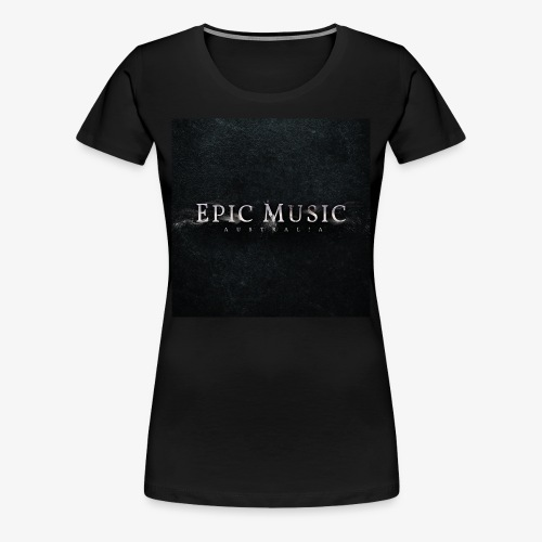 Epic Music Australia Logo - Women's Premium T-Shirt
