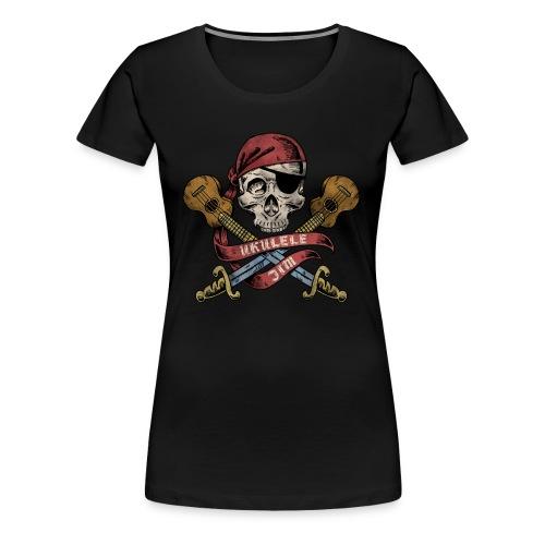 Ukulele Jim Pirate - Women's Premium T-Shirt