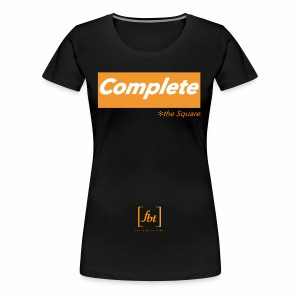 Complete the Square [fbt] - Women's Premium T-Shirt