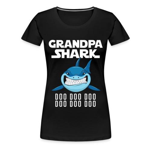 Grandpa Shark T-shirt - Women's Premium T-Shirt