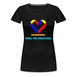 Ms Logo - Women's Premium T-Shirt