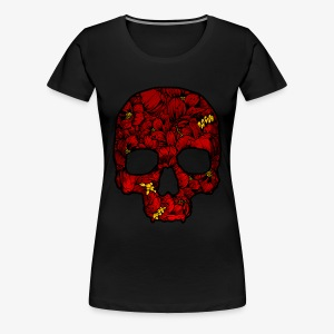 Red Skull - Women's Premium T-Shirt