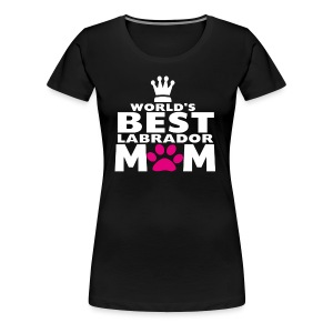 world best mom - Women's Premium T-Shirt