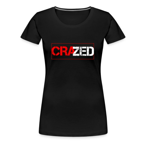 Crazed Logo - Women's Premium T-Shirt