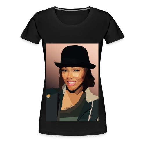 Meagan Good - Women's Premium T-Shirt