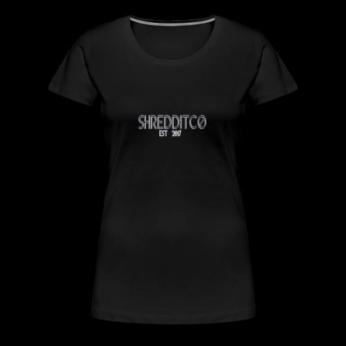 Shredditco Logo - Women's Premium T-Shirt