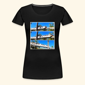 monorail - Women's Premium T-Shirt