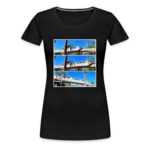 monorail - Women's Premium T-Shirt