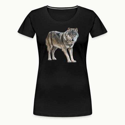 european wolf - Women's Premium T-Shirt