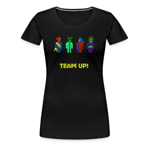 Spaceteam Team Up! - Women's Premium T-Shirt