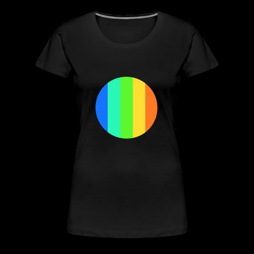 rainbow circle - Women's Premium T-Shirt