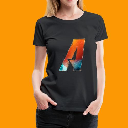 Acombative Multi colored logo - Women's Premium T-Shirt